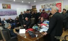 Ekrem Yüce Pamukova'ya başkan adayı olarak ziyarette bulundu.