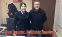 Ahmet Şen Polise Destek ziyaretinde bulundu.