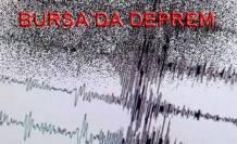 Bursa'da 4.6 büyüklüğünde Deprem oldu.