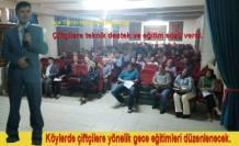 Pamukova da Çiftçilere  ÇATAK projesi anlatıldı.