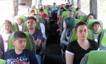 Polisler Çanakkale'ye gezi düzenlediler.