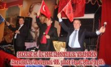 Sakarya da Arnavutluk'un  102. Kuruluş Yılı  Bayrak Şöleni yapıldı.