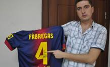 Twitter'dan Barcelona Forması Kazandı.