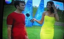 Yılmaz Arslan, Wipeout yarışamasından döndü