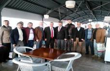 İstanbul Beşiktaşlılar Dernek Yöneticileri Cevat Keser'i ziyaret etti.