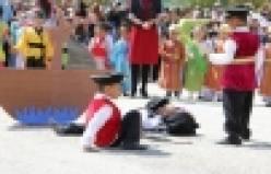 Pamukova halk oyunları