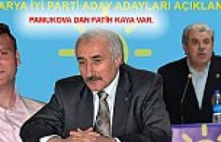 Sakarya da İyi Parti Milletvekili Aday Adayları...