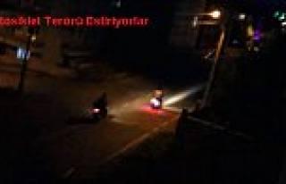 Pamukova da Polis, Terör Estiren Motosikletlilere...