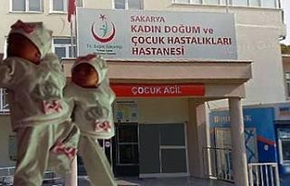 Türk Asıllı Anne ile Özbek asıllı annenin bebekleri...