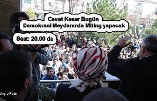 Bugün AK Parti ve Saadet Parti adaylarının eş...