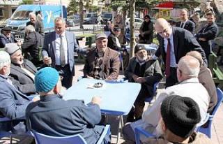 Büyükşehir Millet İttifak adayı Cihan Kolip Pamukova'da