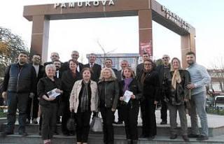 CHP + İYİ Parti Adayı Eryiğit'e destek için...
