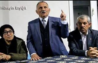 CHP, İYİ Parti ortak adayı Hüseyin Eryiğit Şeyhvarmaz'da...