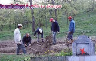 Erdoğan Isır Akçakaya mahallesinde su kesintisine...