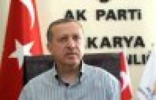 Başbakan Sakarya'da halka hitap etti.