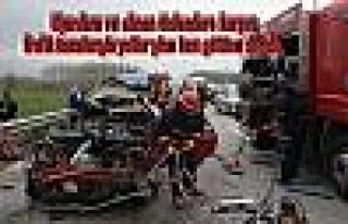 Bayramda Trafik Terörü Esti. 7 günde 107 ölü,...