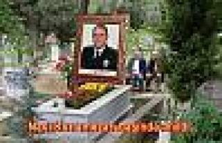 Emniyet Müdürü Naci Kuru mezarı başında anıldı.