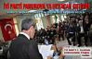 İYİ Parti 1. Olağan Genel Kurulu Pamukova da coşku...