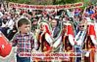 Pamukova da 23 Nisan coşku içinde kulandı