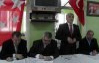 Saadet Partisi yeniden Kemal Taş dedi.