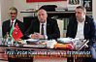 Ziraat Odaları Başkanları Pamukova da toplandılar....