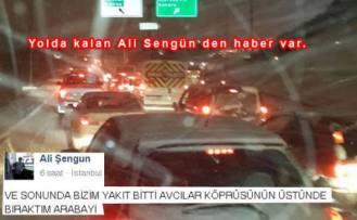 İstanbul da Yolda kalan Ali Şengün'den yeni haber var.