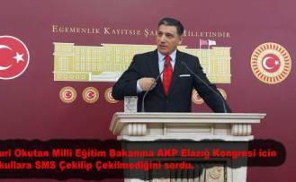 İYİ Parti'li Okutan'dan Milli Eğitim Bakanına Jet Önerge.
