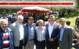 İYİ Partililer Pamukova Hıdırellez Pilavında vatandaşlarla buluştular.