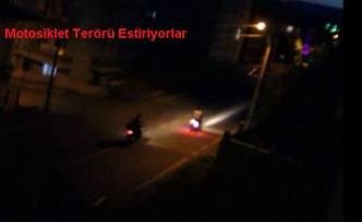 Pamukova da Polis, Terör Estiren Motosikletlilere göz açtırmıyor.