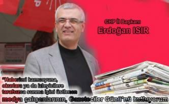 Erdoğan Isır Medya Çalışanlarının Gününü Kutladı.