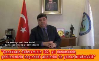 Mehmetçik Vakfı Çanakkale Şehitleri anma programı düzenledi.