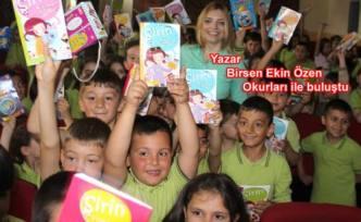 Öğrenciler Okudukları kitabın yazarı ile buluştular.