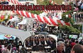 Pamukova Festivaline büyük ilgi