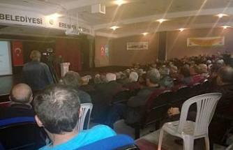Sakarya'da Arıcılık Paneli düzenlendi.
