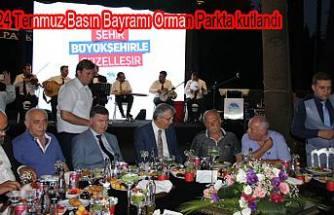 Sakaryalı gazeteciler Orman Parkta buluştular.