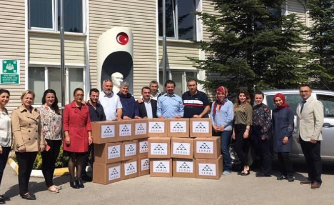 """SEDAŞ İyilik Gönüllüleri """"Minik Kalpler İçin El Birliği"""" Yaptı"""