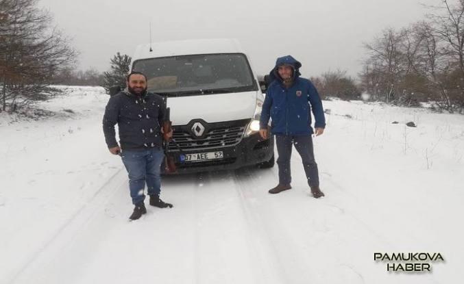Pamukova Mesruriye, Sultaniye yolunda mahsur kalan 2 kişi kurtarıldı