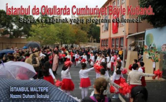 Cumhuriyetin 94. Yılı İstanbul da coşku içinde kutlandı.