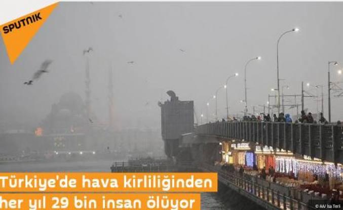 Türkiye de ki Çevre Kirliği Rus sitelerine haber oldu.