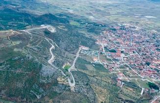 Pamukova'nin Havadan görüntüsü